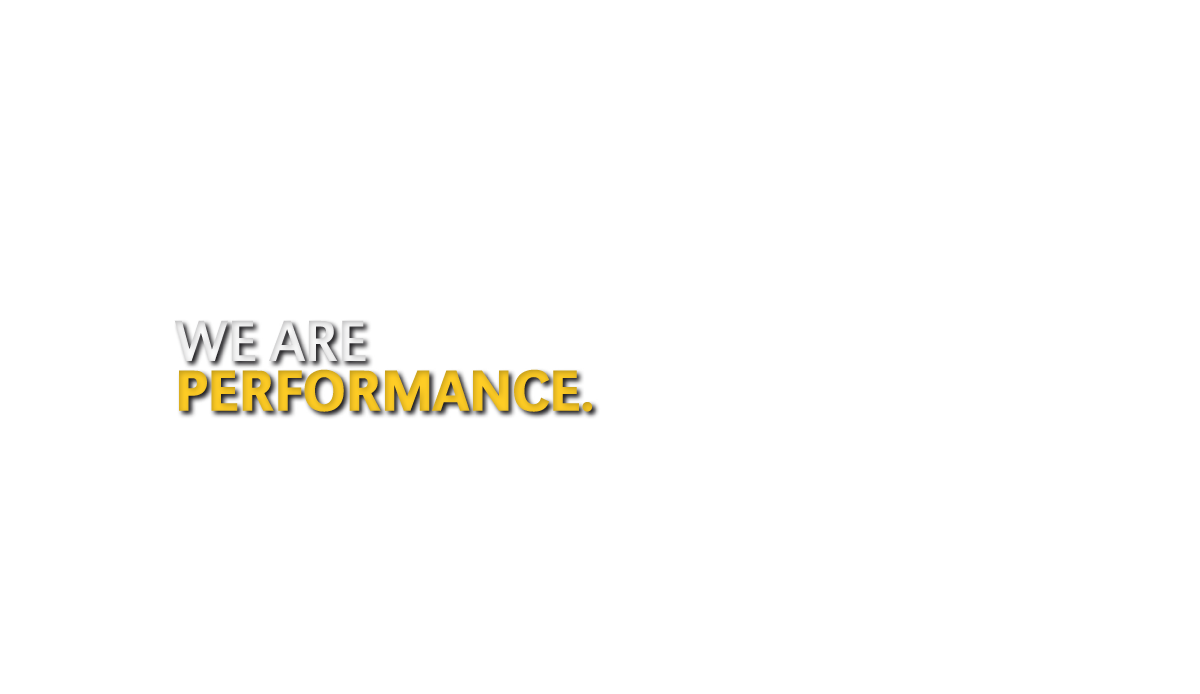 We Are Performance